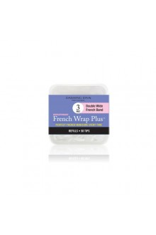 Dashing Diva - French Wrap Plus / Thick French Band - White Refills 50ct #3