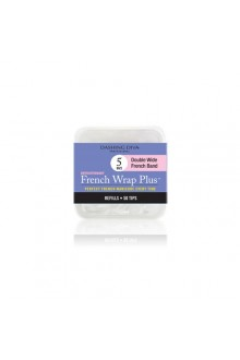 Dashing Diva - French Wrap Plus / Thick French Band - White Refills 50ct #5