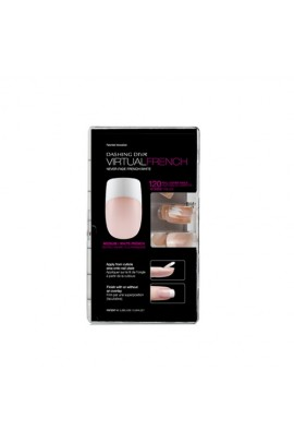 Dashing Diva - Virtual Nails - French - 120ct