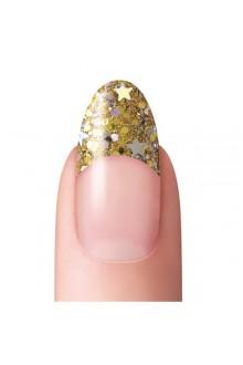 Dashing Diva - Glitter No-Blend Tip - Gold - 96ct / 12 Sizes