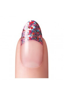 Dashing Diva - Glitter No-Blend Tip - Pink - 96ct / 12 Sizes