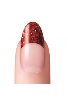 Dashing Diva - Glitter No-Blend Tip - Red - 96ct / 12 Sizes