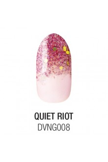 Dashing Diva - Glam Gel - Quiet Riot - 24 Nails / 12 Sizes
