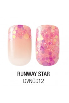 Dashing Diva - Glam Gel - Runway Star - 24 Nails / 12 Sizes