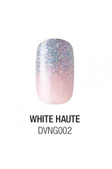 Dashing Diva - Glam Gel - White Haute - 24 Nails / 12 Sizes