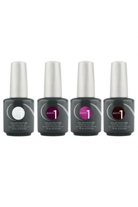 Entity One Color Couture Soak Off Gel Polish - Couture Confidence Winter 2016 Collection - All 4 Colors - 0.5oz / 15ml Each
