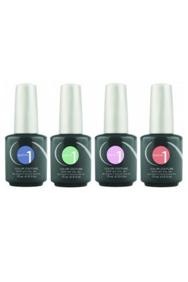 Entity One Color Couture Soak Off Gel Polish - Flair for Romance Spring 2017 Collection - All 4 Colors - 0.5oz / 15ml Each