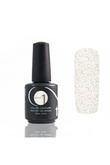 Entity One Color Couture Soak Off Gel Polish - Elegant Collection - Graphic & Girlish White - 0.5oz / 15ml