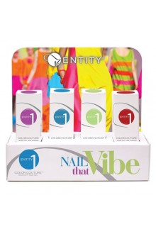 Entity One Color Couture Soak Off Gel Polish - Nail That Vibe 2016 Collection - ALL 4 Colors - 0.5oz / 15ml EACH