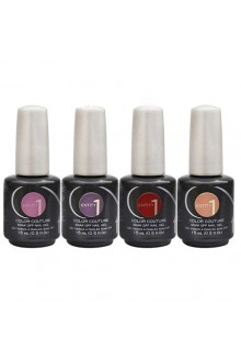 Entity One Color Couture Soak Off Gel Polish - Now Trending 2016 Collection - ALL 4 Colors - 0.5oz / 15ml EACH