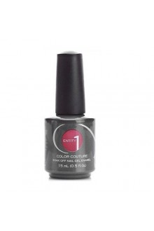 Entity One Color Couture Soak Off Gel Polish - Red Rum Rouge - 0.5oz / 15ml