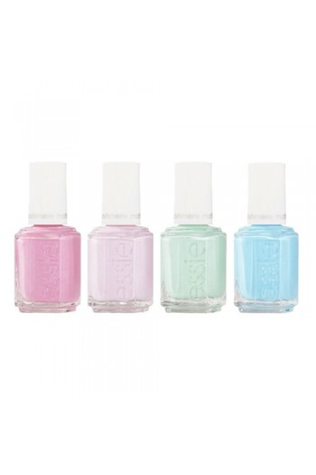 Essie Nail Effects - Cashmere Matte Brights - 0.46oz / 13.5ml each - All 4 Colors