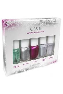 Essie Nail Polish - 2015 Holiday Collection - Shimmer and Shine Mini Kit - Mini 5pk Kit - 5 x 0.16oz
