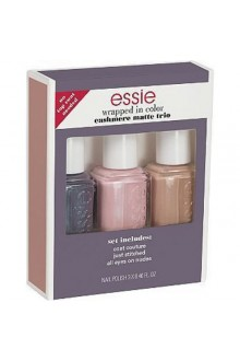 Essie Nail Effects - Cashmere Matte Trio - Wrapped In Color