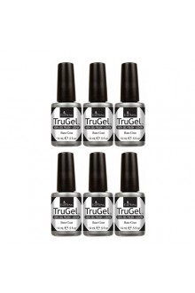 EzFlow TruGel LED/UV Gel Polish - Base Coat - 0.5oz / 14ml - 6 PACK