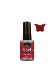 EzFlow TruGel LED/UV Gel Polish - Tuscan Red - 0.5oz / 14ml
