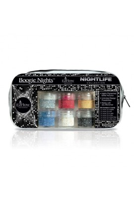 EzFlow Boogie Nights Collection - Nightlife Glitter Acrylics