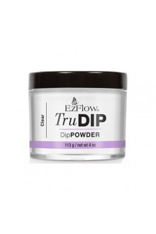 EzFlow TruDIP - Dip Powder - Clear - 4oz / 113g