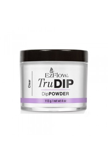EzFlow TruDIP - Dip Powder - Clear - 4oz / 113g