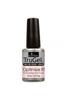 EzFlow TruGel LED/UV Gel Polish - Optimize It! Concealing Base Coat - 0.5oz / 14ml