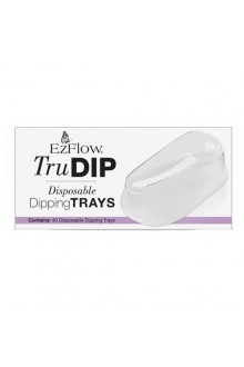 EzFlow TruDIP - Disposable Dipping Trays - 40 Trays
