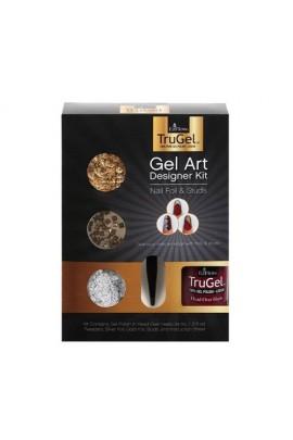 EzFlow TruGel - Gel Art Designer Kit - Nail Foil & Studs