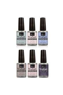 EzFlow TruGel LED/UV Gel Polish - Ice Empress Winter 2016 Collection - All 6 Colors - 14ml / 0.5oz Each