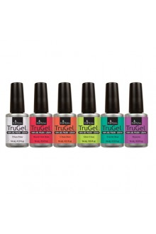 EzFlow TruGel LED/UV Gel Polish - Neon Daze Collection - All 6 Colors - 14ml / 0.5oz Each