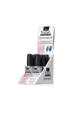 EzFlow TruGel LED/UV Gel Polish - Optimize It! Base Coat 6pc Display - 0.5oz / 14ml Each
