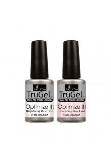 EzFlow TruGel LED/UV Gel Polish - Optimize It! Brightening & Concealing Base Coat - 0.5oz / 14ml