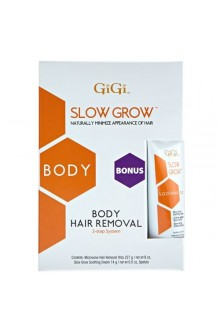 GiGi Slow Grow - Body Hair Removal 0732 + Bonus Soothing Cream
