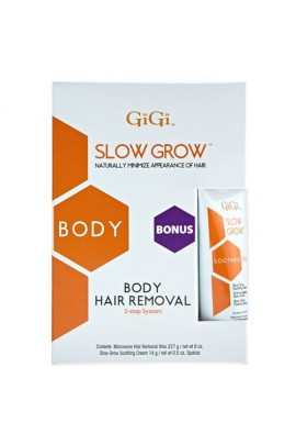 GiGi Slow Grow - Body Hair Removal 0732 + Bonus Soothing Cream