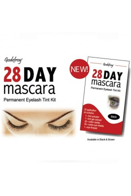 Godefroy 28 Day Mascara Permanent Eyelash Kit - Black