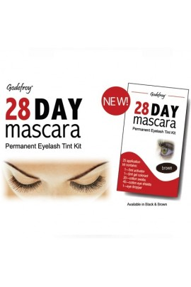 Godefroy 28 Day Mascara Permanent Eyelash Kit - Brown