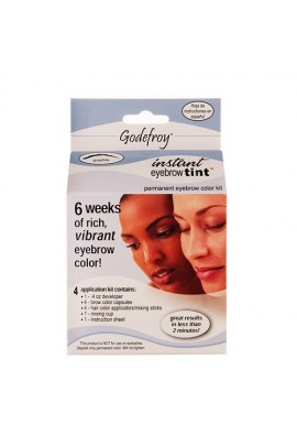 Godefroy - Instant Eyebrow Tint - Graphite