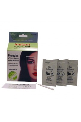 Godefroy - Instant Eyebrow Tint - Dark Brown