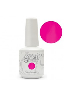 Nail Harmony Gelish - All About the Glow Collection - Make You Blink Pink - 0.5oz / 15ml