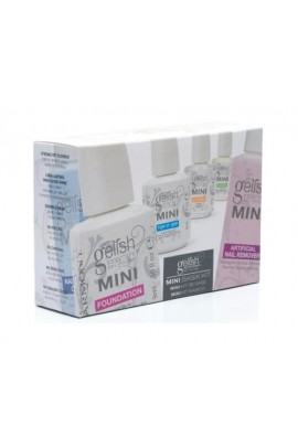 Nail Harmony Gelish Mini Basix Kit - Essentials Starter Basics Kit