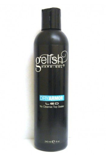 Nail Harmony Gelish Dry Armor LED No Cleanse Top Sealer- 8oz / 240ml