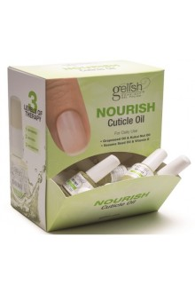 Nail Harmony Gelish - 24pc Mini Nourish Cuticle Oil Display