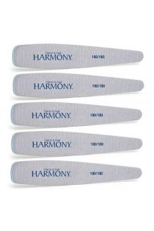 Nail Harmony 180/180 Grit File - 5pk
