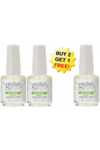 Nail Harmony Gelish - Nourish Cuticle Oil - BUY 2 GET 1 FREE