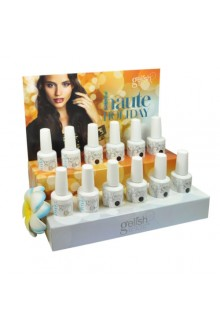 Nail Harmony Gelish - Haute Holiday Collection - 12pc Counter Display