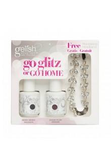 Nail Harmony Gelish - Haute Holiday Collection - Go Glitz or Go Home Kit - Free Rhinestone Headband