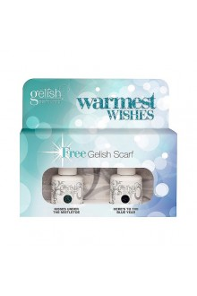 Nail Harmony Gelish - Haute Holiday Collection - Warmest Wishes Kit - Free Gelish Scarf