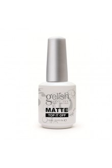 Nail Harmony Gelish - Matte Top It Off  - 0.5oz / 15ml