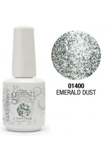 Nail Harmony Gelish - Emerald Dust - 0.5oz / 15ml