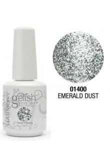 Nail Harmony Gelish - Emerald Dust - 0.5oz / 15ml