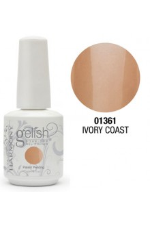 Nail Harmony Gelish - Ivory Coast - 0.5oz / 15ml