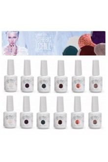 Nail Harmony Gelish - 2014 The Big Chill Collection - 12pc Display